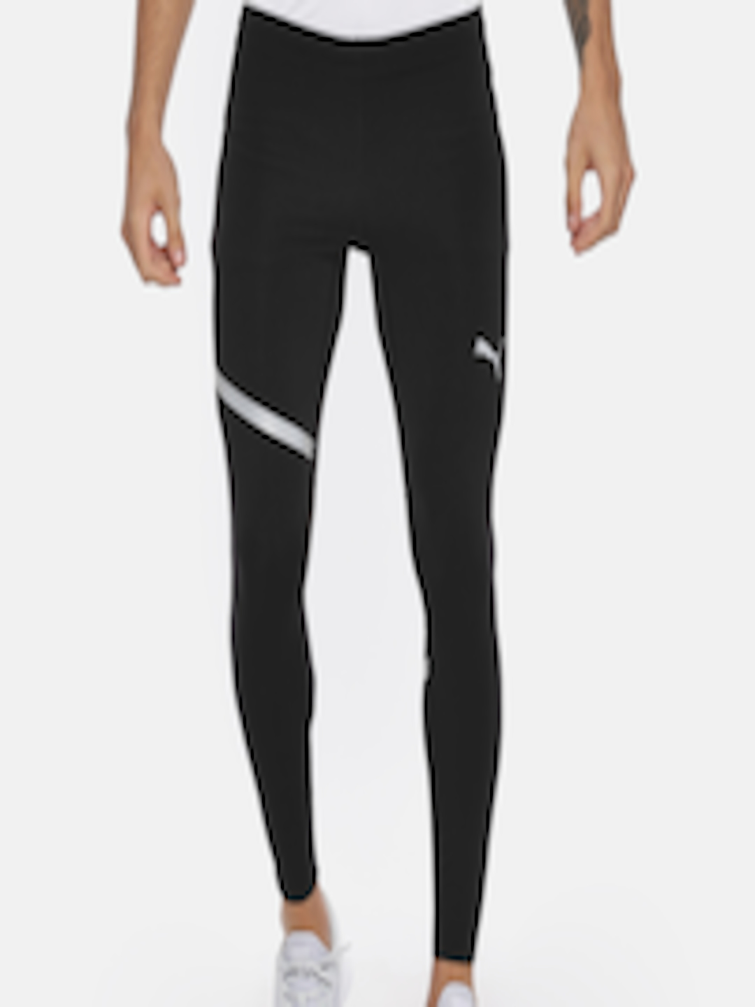 291f8eab25dc Buy Puma Men Black Solid SPEED Long Running Tights - Tights for Men 7187062