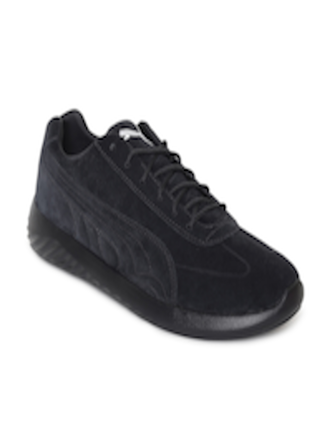 04c895b27669 Buy Puma Men Black Solid Suede BMW MS Speed Cat Evo Sneakers - Casual Shoes  for Men 7188906