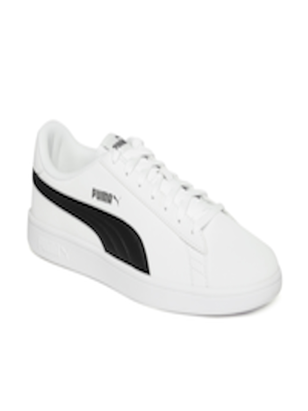 c88f4272287 Buy Puma Unisex White Smash V2 Buck Sneakers - Casual Shoes for Unisex  7252383