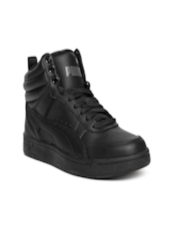 3fbe0d8020 Buy Puma Boys Black Rebound Street V2 L Jr Sneakers - - Footwear for Boys