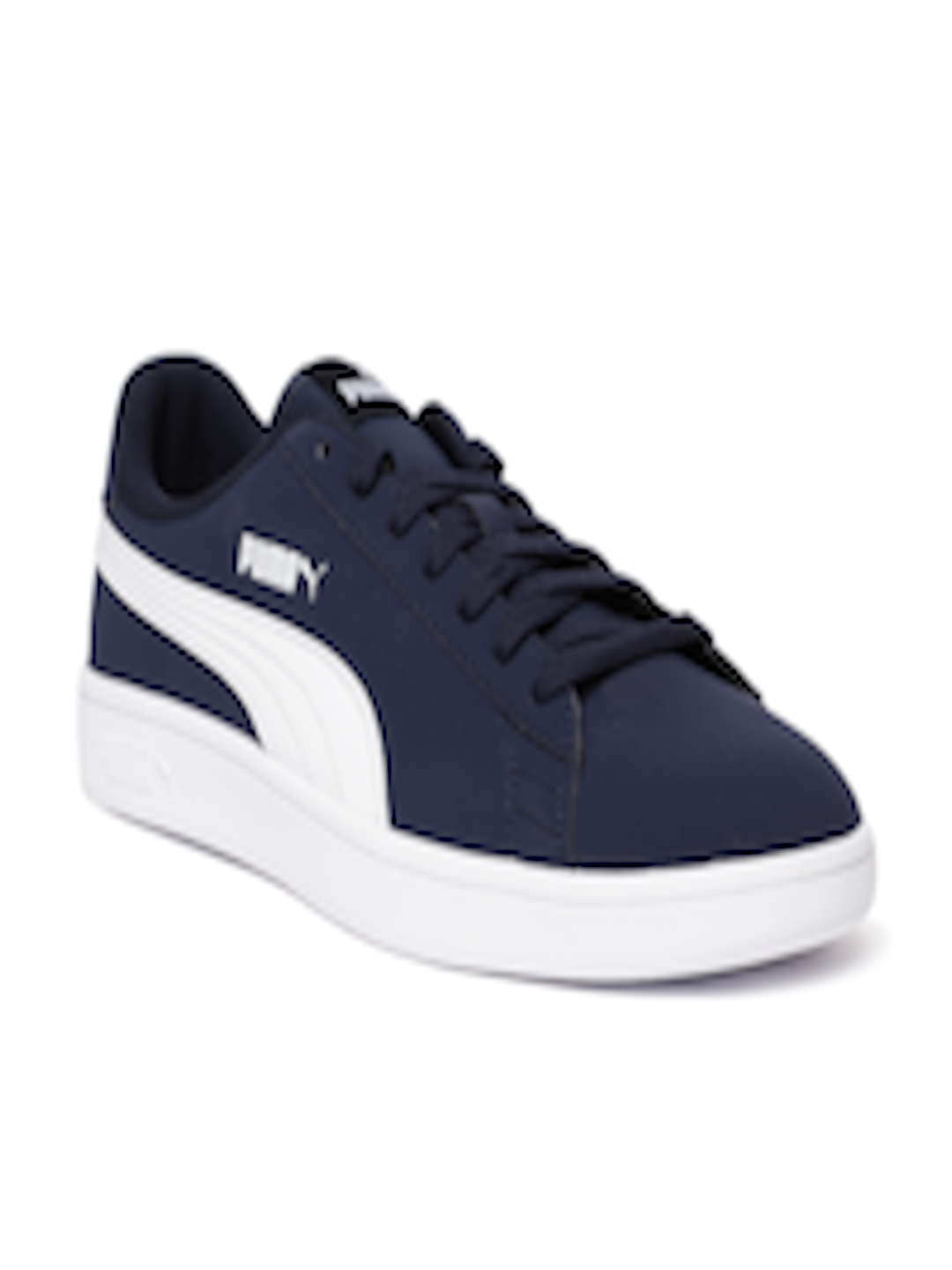 841a674f79f Buy Puma Unisex Navy Blue Smash V2 Buck Sneakers - Casual Shoes for Unisex  8160397 | Myntra