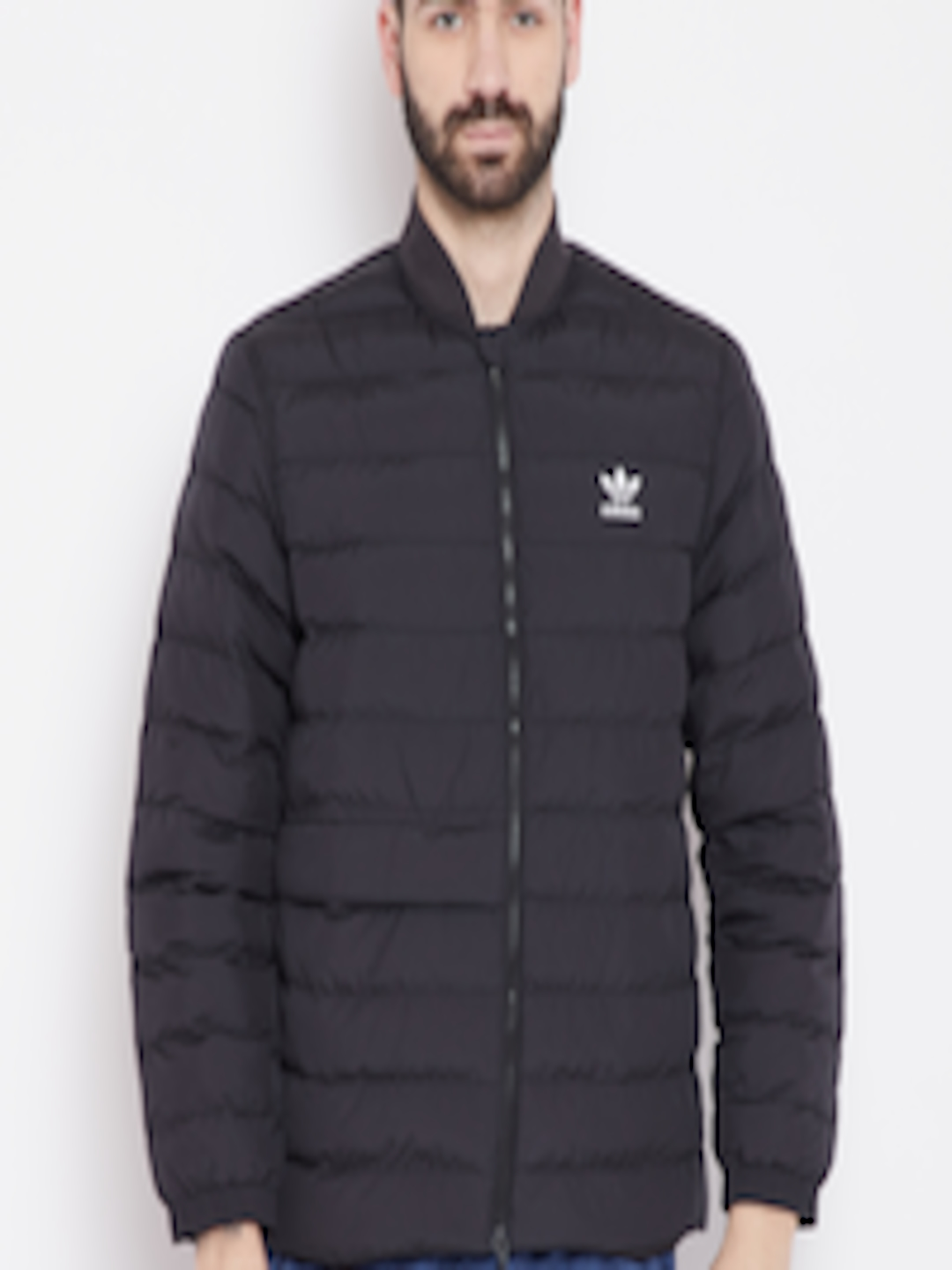 0437d037f Buy ADIDAS Originals Men Black SST Outdoor Atric Solid Puffer Jacket - -  Apparel for Men