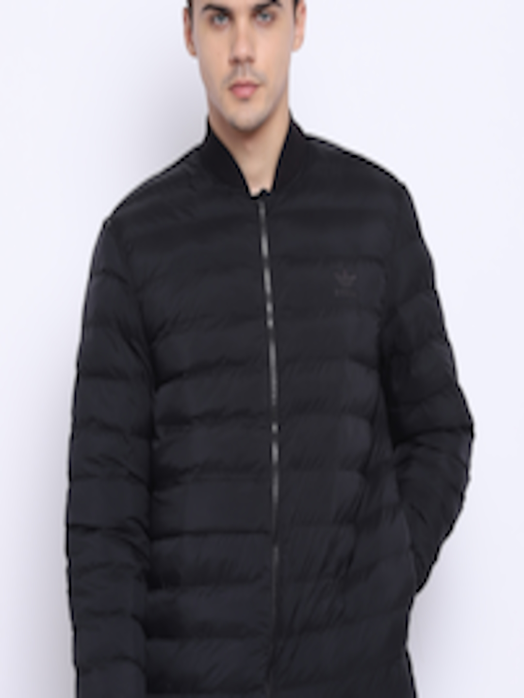 9d49759edb8b Buy ADIDAS Originals Men Black SST Outdoor Atric Solid Puffer Jacket -  Jackets for Men 7401480