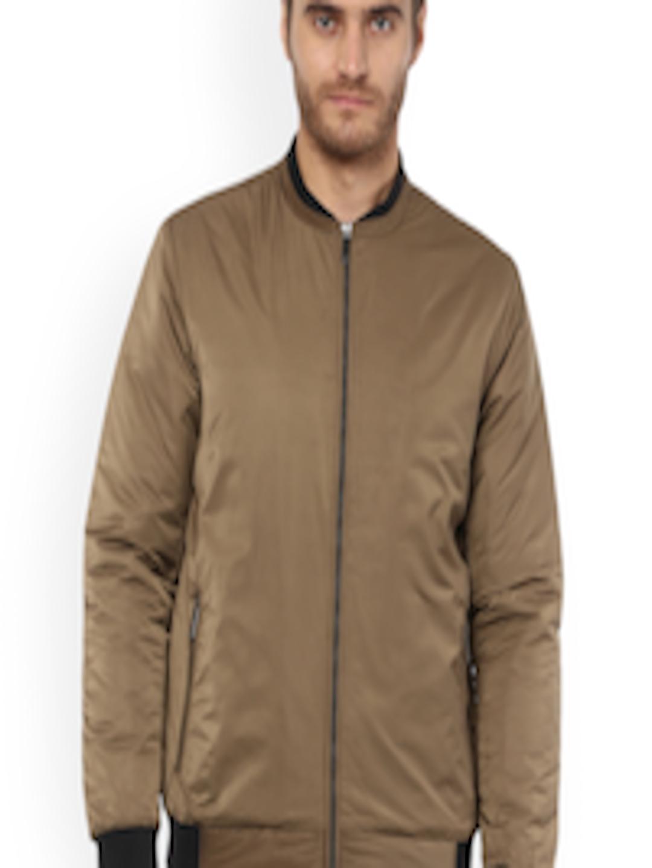 87e335221 Buy Mufti Men Khaki Solid Padded Jacket - - Apparel for Men