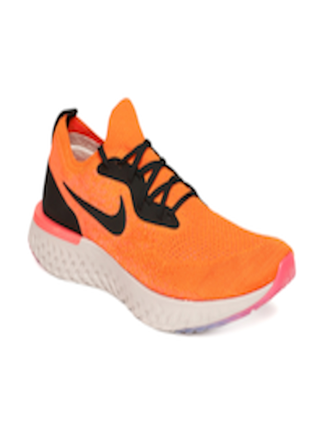 another chance buy good excellent quality Buy Nike Men Orange EPIC REACT FLYKNIT Running Shoes - - Footwear for Men