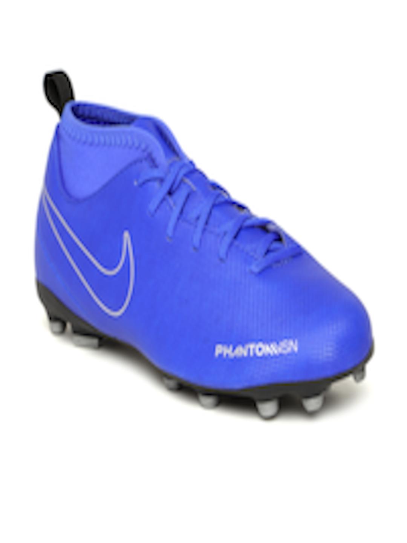 lowest price 73cc1 318b6 Buy Nike Kids Blue Phantom Vision Club Dynamic Fit FGMG Football Shoes -  Sports Shoes for Unisex 7487695  Myntra