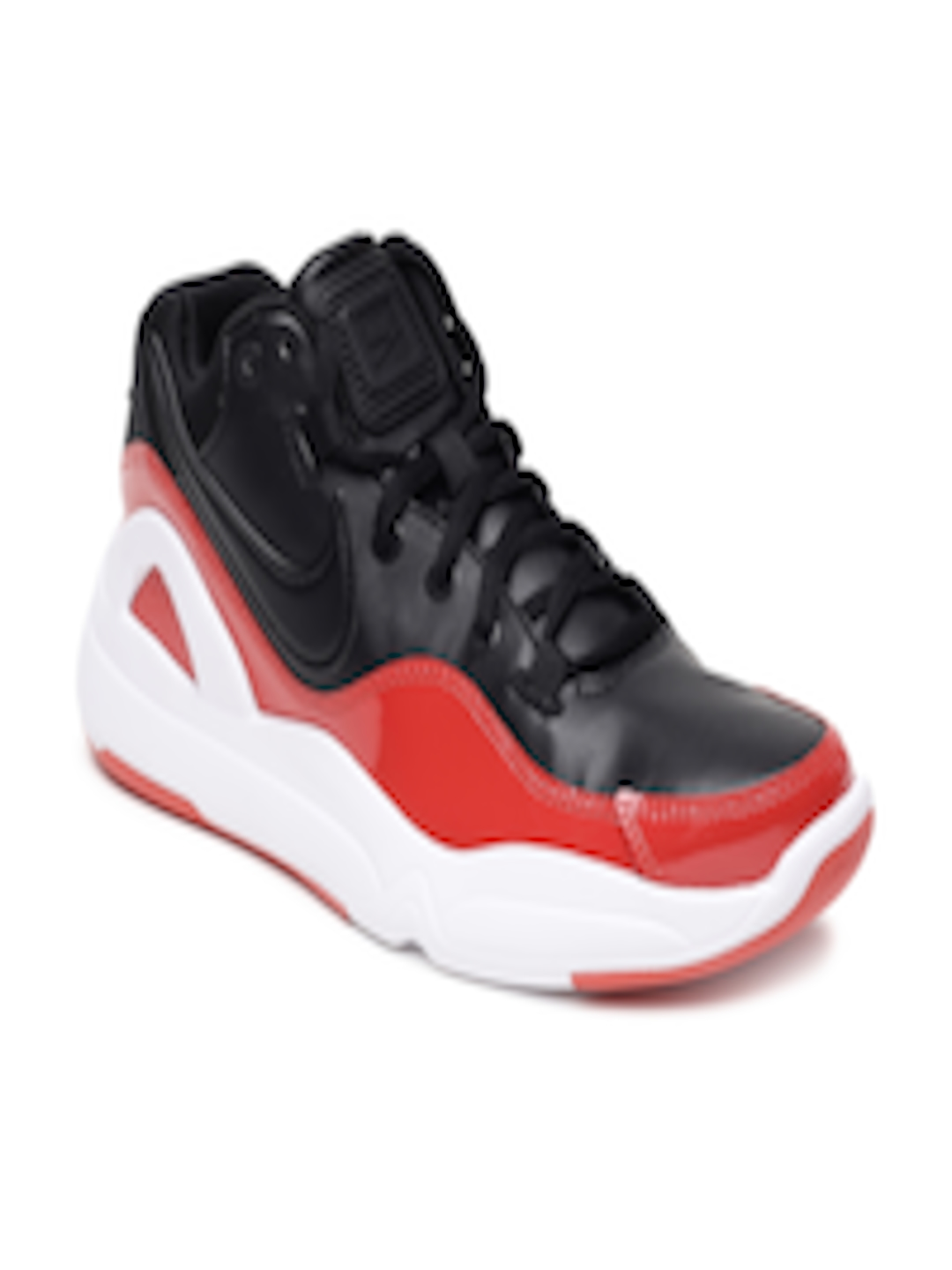 8338f328ff378 Buy Nike Men Black   Red NIKE DILATTA PREMIUM Basketball Shoes - Sports  Shoes for Men 7487747