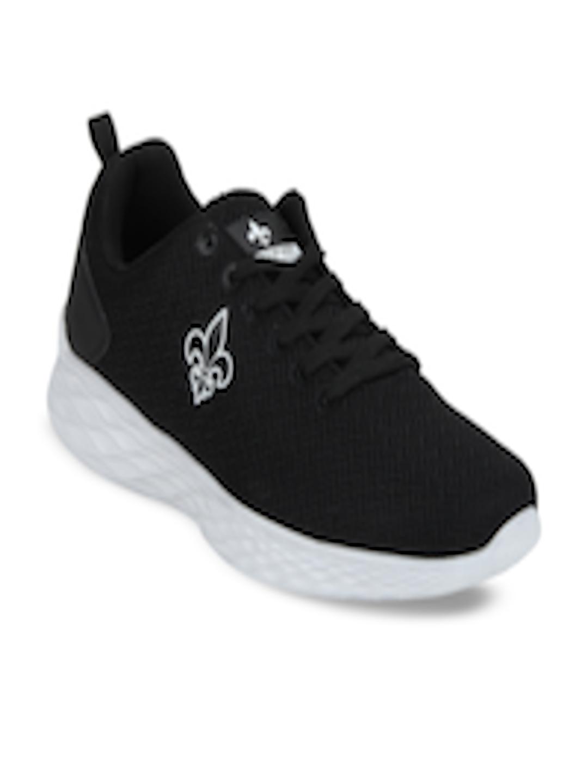 Men Black Walking Shoes