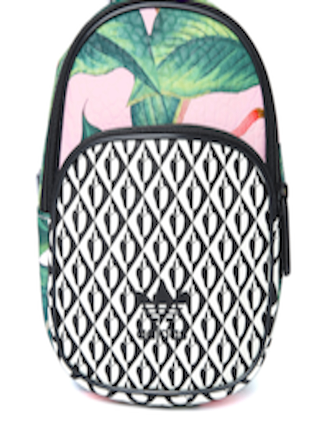 Buy ADIDAS Originals Women Green   Black Mini Printed Backpack - Backpacks  for Women 7587174  256f55288fcad