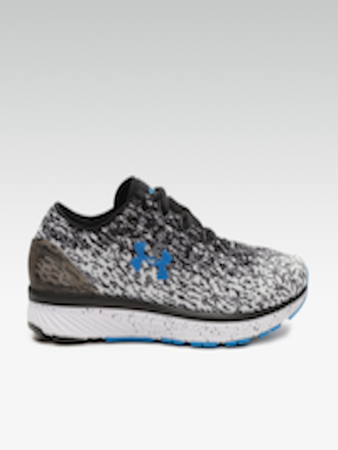 Buy UNDER ARMOUR Men Black & White Charged Bandit 3 Ombre Running Shoes Footwear for Men