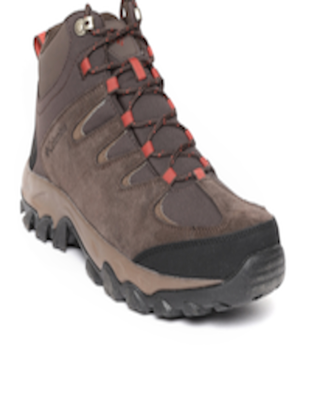 Buy Columbia Men Coffee Brown Buxton Peak Mid Waterproof Trekking Shoes -  Sports Shoes for Men 7669754  26ca8a93a7