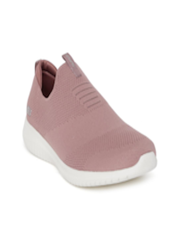 d308a8d6d8d4 Buy Skechers Women Mauve ULTRA FLEX FIRST TAKE Slip On Sneakers - Casual  Shoes for Women 7777922