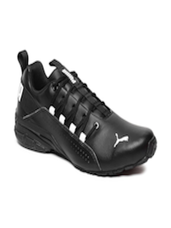 f7088322ecfb69 Buy Puma Men Black Hexa Dot Running Shoes - Sports Shoes for Men 8097213