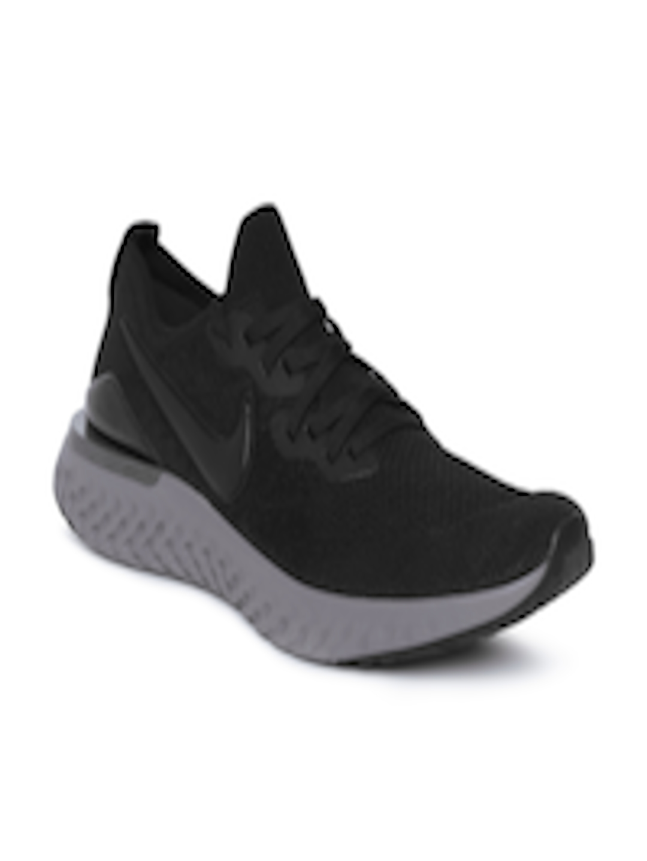 pretty nice ea3fc 1fefc Buy Nike Men Black EPIC REACT FLYKNIT 2 Running Shoes - - Footwear for Men