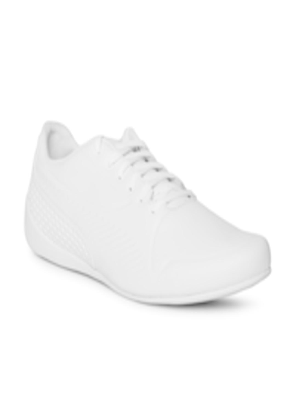 787fd1face Buy Puma Men SF Drift Cat 7 Ultra LS White Leather Sneakers - - Footwear  for Men