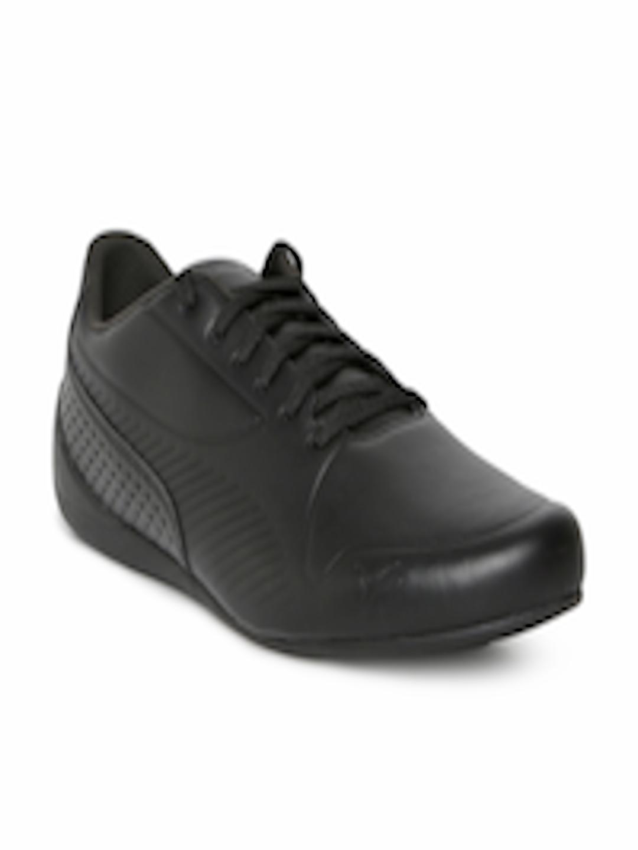 446b3c1435 Buy Puma Men Black SF Drift Cat 7 Ultra LS Leather Sneakers - - Footwear  for Men