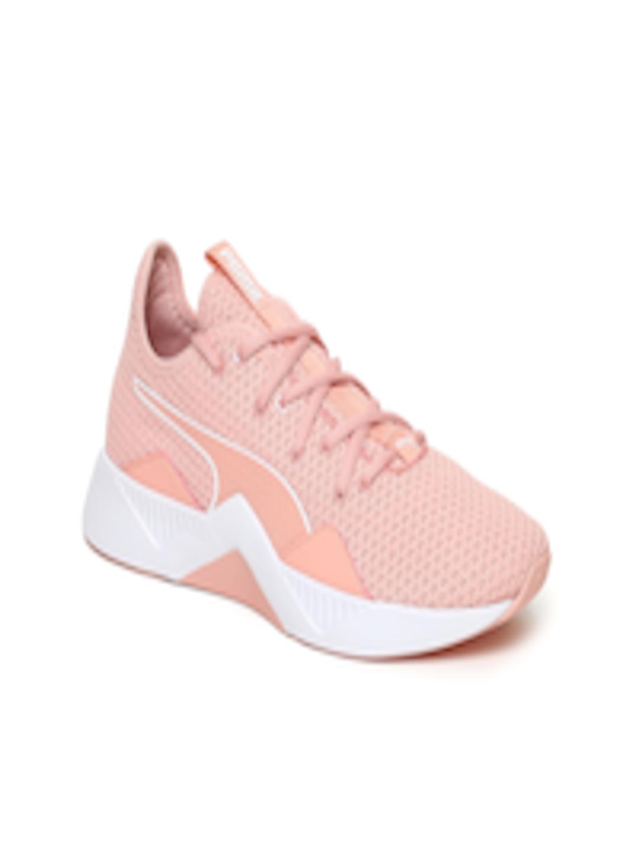 953a266ddc Buy Puma Women Peach Coloured Incite FS Training Shoes - - Footwear for  Women
