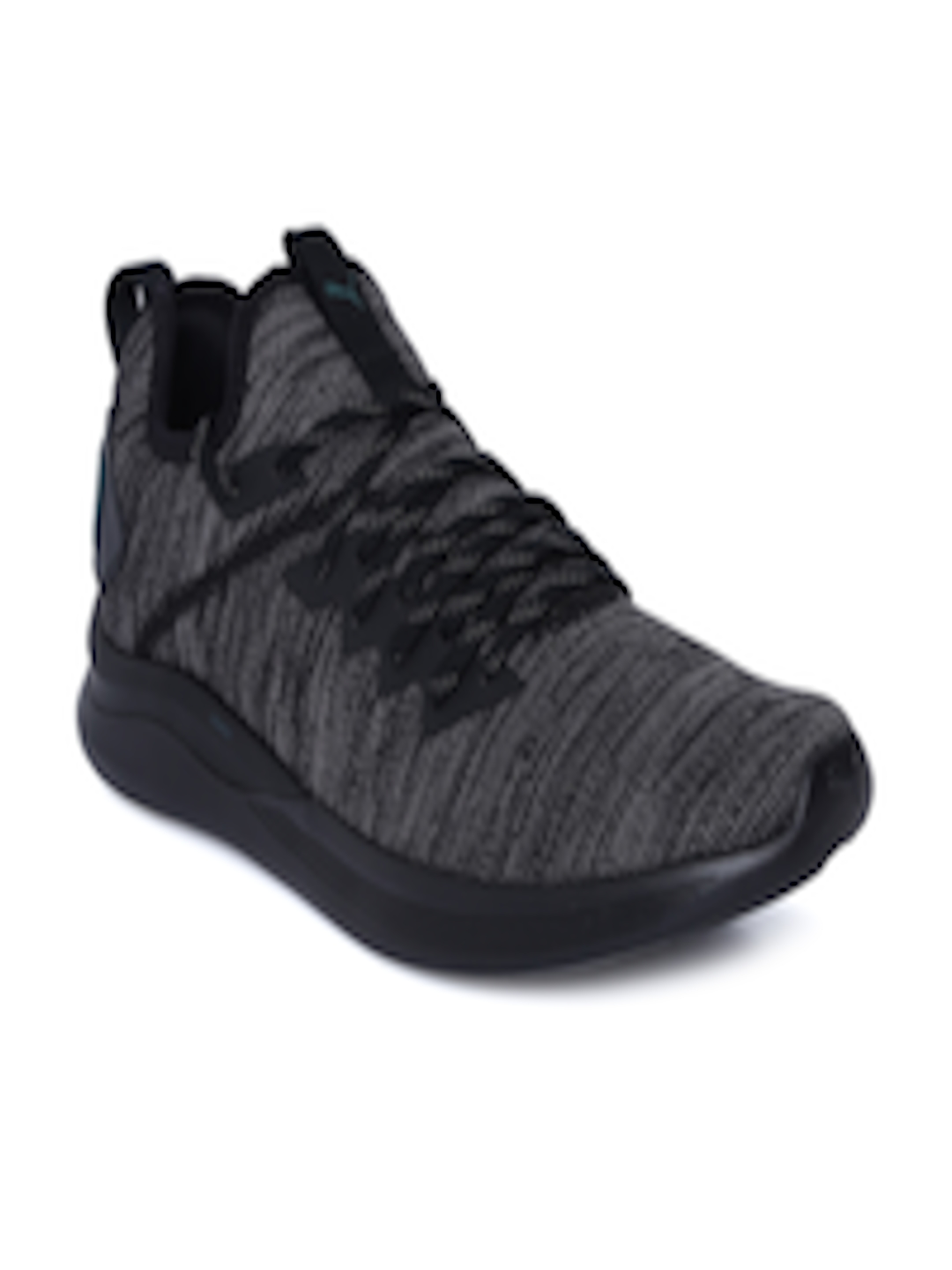 half off cc31b ae47d Buy Puma Men Black IGNITE Flash EvoKNIT Training Shoes - - Footwear for Men