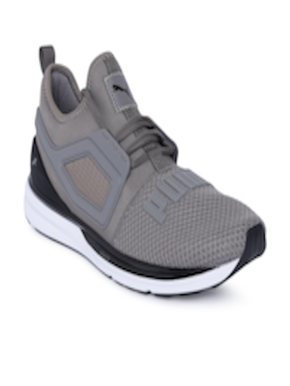 huge discount bcf1d ad5c0 Buy Puma Men Charcoal Grey IGNITE Limitless 2 Running Shoes - - Footwear  for Men