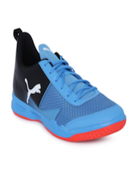 Buy Puma Unisex Black & Green Rise XT 4 Badminton Shoes Footwear for Unisex