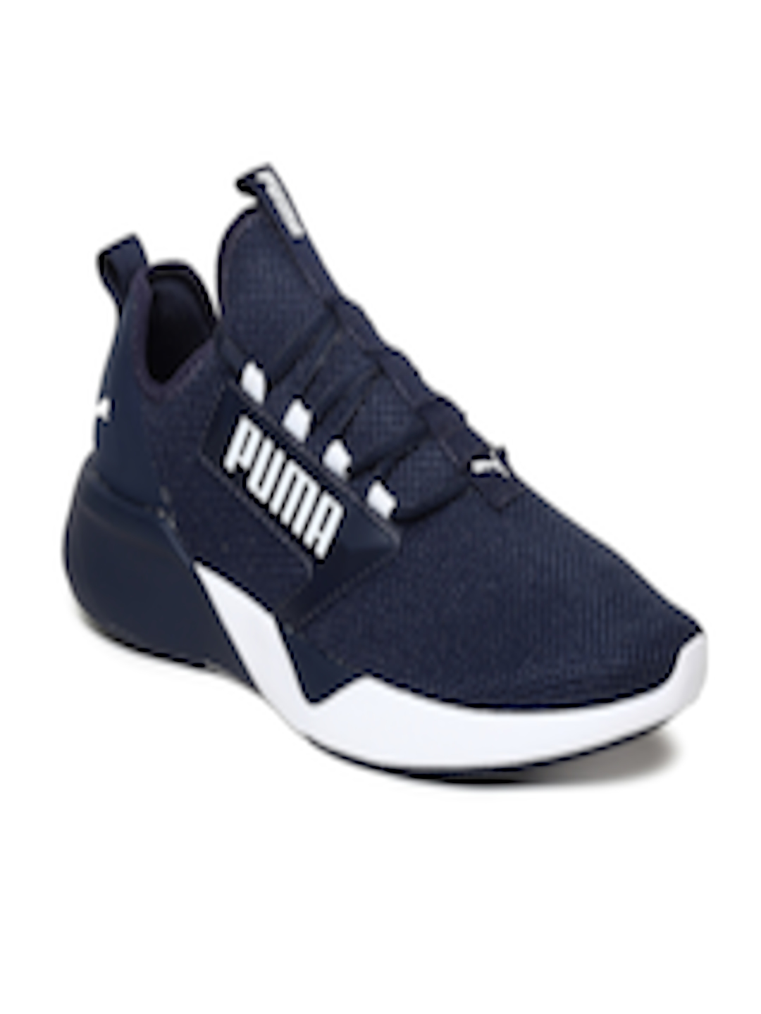 21a6c62a5 Buy Puma Men Navy Blue Retaliate Training Shoes - Sports Shoes for Men  8476981 | Myntra