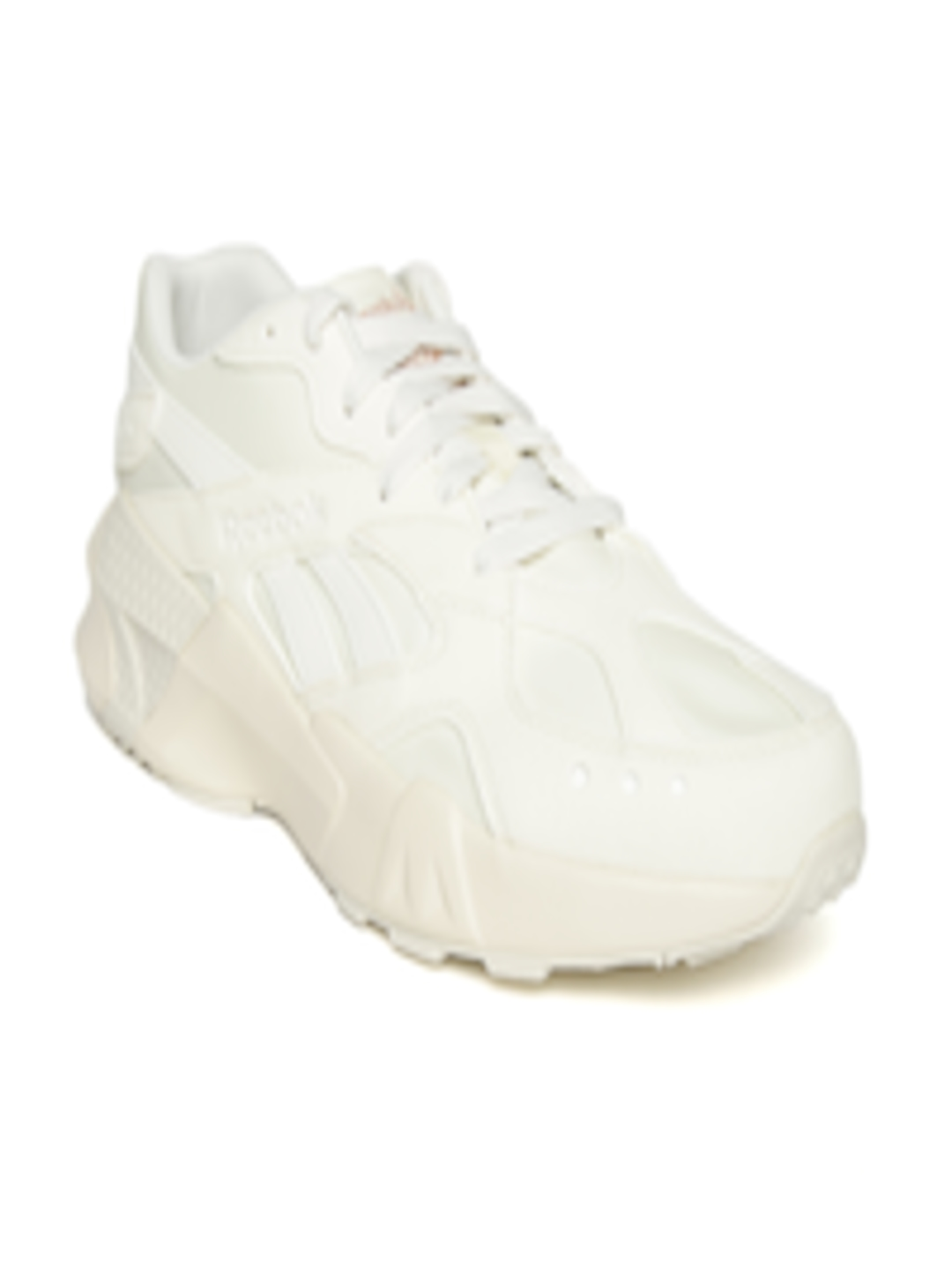Reebok Mens Trainers Classic Aztrek Retro White Casual Formal Shoes New Size 7