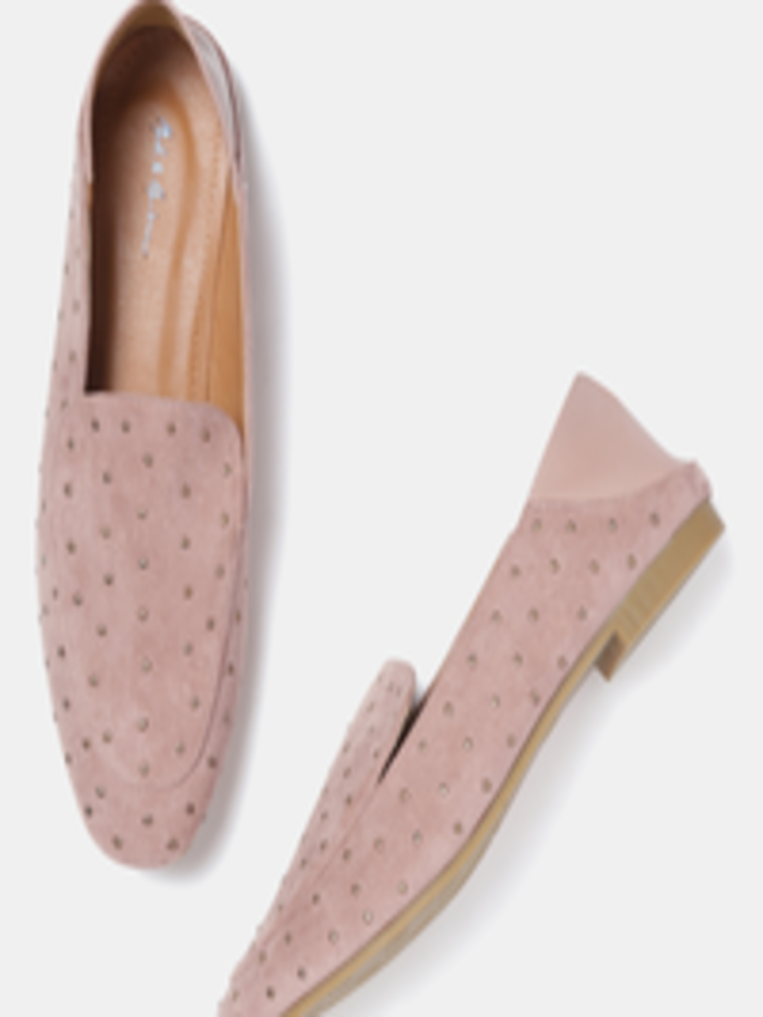 0dcb7f9c817 Buy Mast   Harbour Women Dusty Pink Embellished Slip Ons - Casual Shoes for  Women 8519031