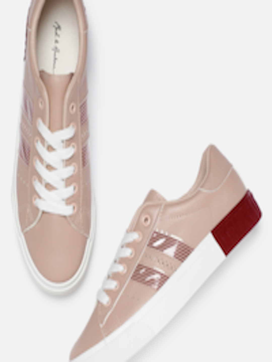 Buy Roadster Women Nude Pink Sneakers - Casual Shoes for