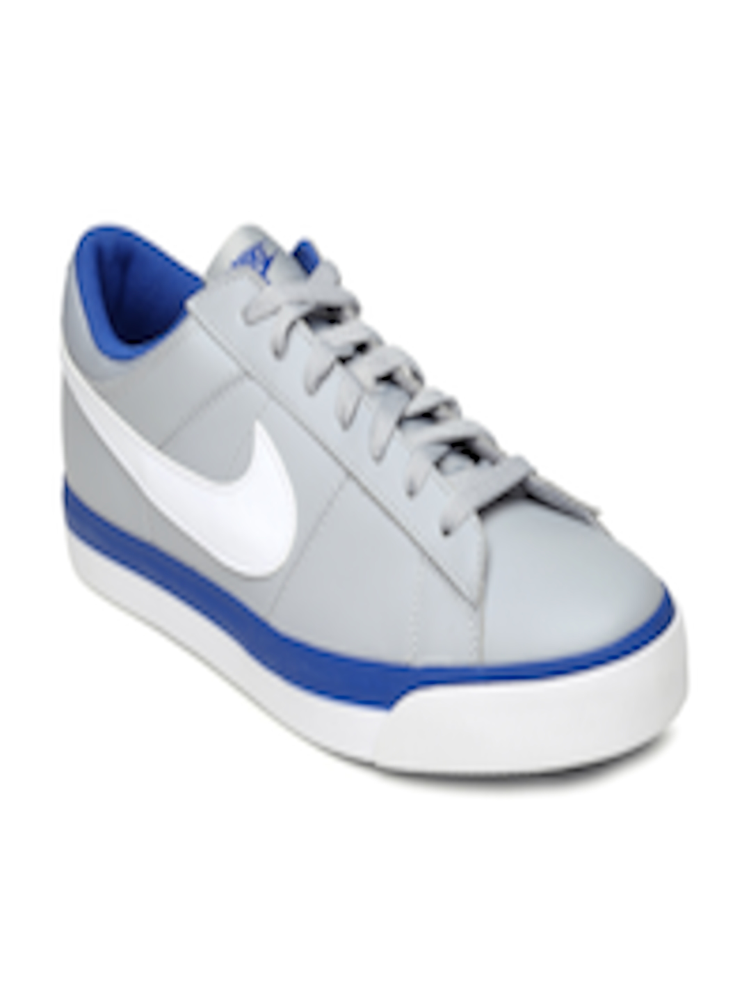 942d635eaedd Buy Nike Men Grey Match Supreme Leather Casual Shoes - Casual Shoes for Men  857272
