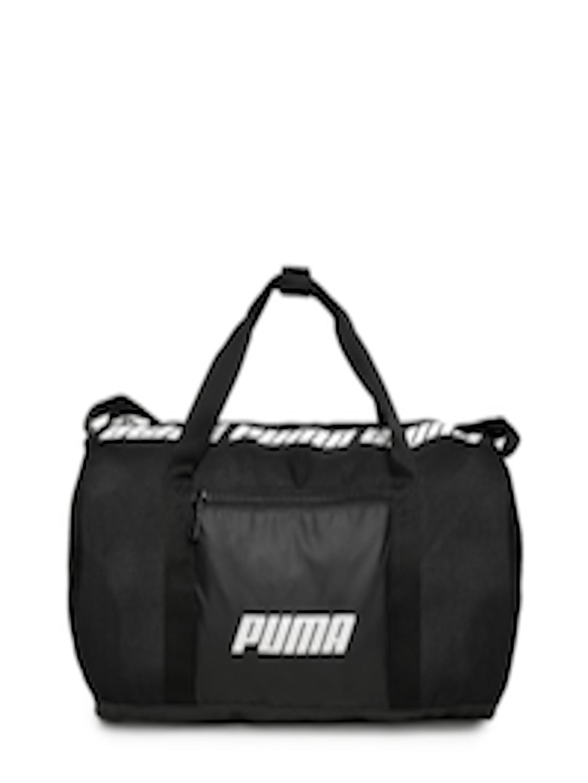 478f30fb0b Buy Puma Women Black Core Barrel S Brand Logo Duffel Bag - Duffel Bag for  Women 8592523