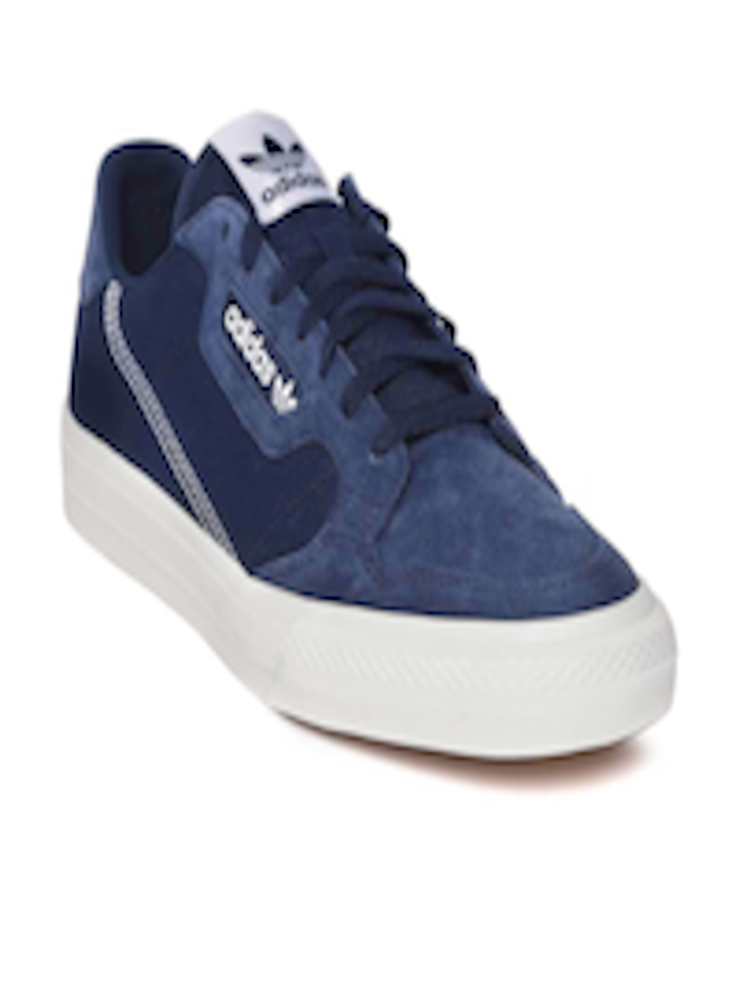 Buy ADIDAS Originals Unisex Navy Continental Vulc Sneakers Footwear for Unisex