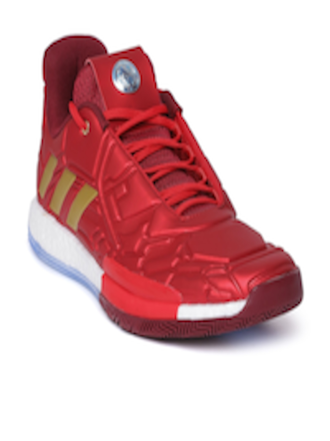 15d905444 Buy ADIDAS Men Red Harden Vol. 3 Iron Man Basketball Shoes - - Footwear for  Men