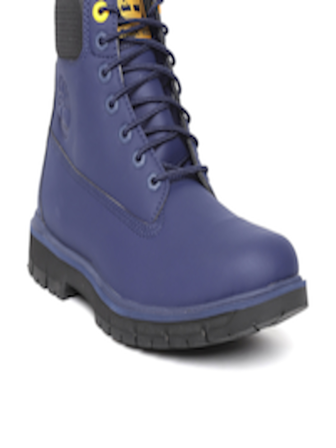 5e2abbc5198 Buy Timberland Men Navy Blue Radford Waterproof 6 Inch Mid Top Boots - -  Footwear for Men