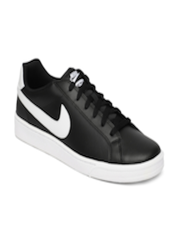 Buy Nike Men Black Solid Court Majestic