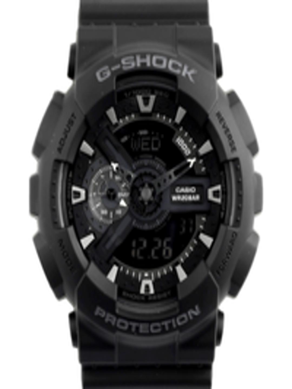 Buy CASIO G Shock Men Black Analogue Digital Watch GA 110 1BDR G317 -  Watches for Men 95052  2b3b31570