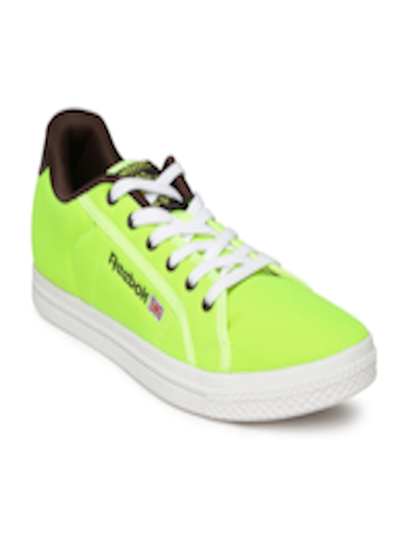 759692a75893 Buy Reebok Classic Men Fluorescent Green NPC Court Sneakers - Casual Shoes  for Men 974961