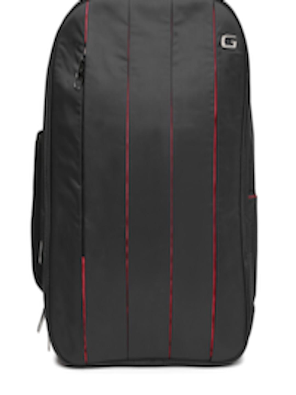 3b6e90fd2f4d Buy Gear Unisex Black Pleat Business Laptop Backpack - Backpacks for Unisex  986705