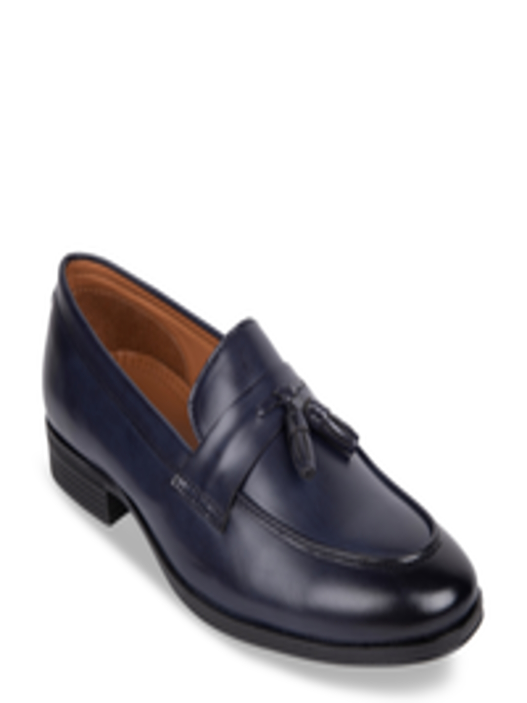 Buy Duke Men Navy Blue Penny Loafers - Casual Shoes for ...
