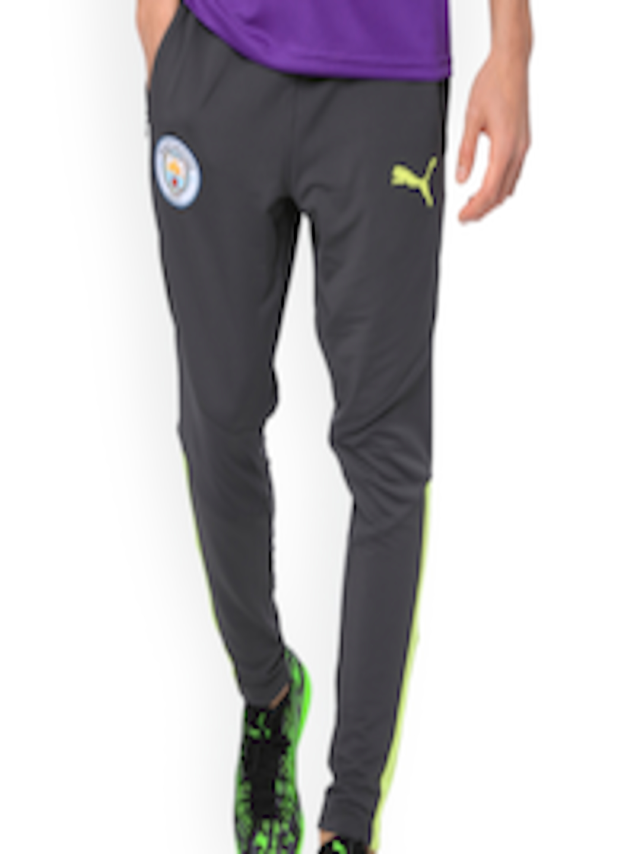 Buy Puma Men Grey Manchester City FC Men's Training Pants PRO Trackpants Apparel for Men