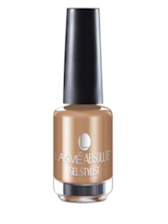 Buy Lakme Absolute Gel Stylist Caramel Melt Nail Color Nail Polish For Women 161865 Myntra