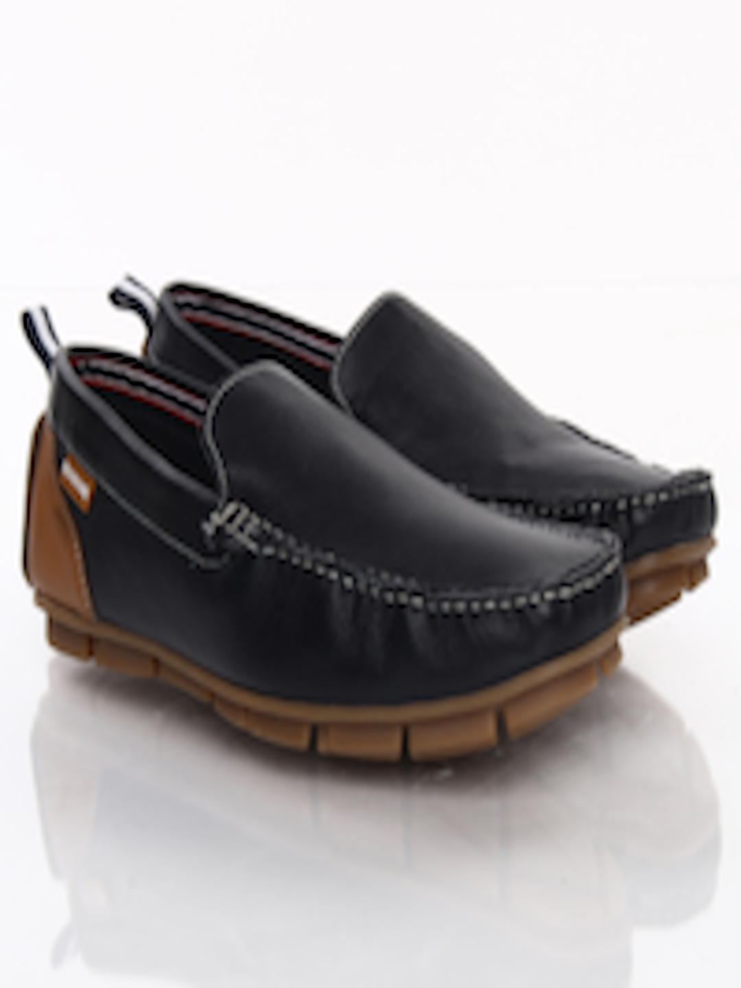 buy u s polo assn navy leather loafers casual