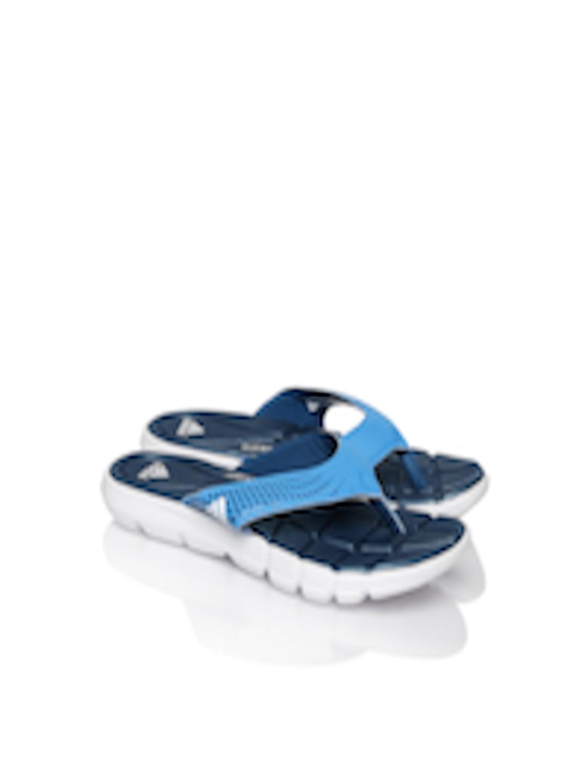 55053cfe4088 Buy ADIDAS Women Blue Adipure 360 Flip Flops - Flip Flops for Women ...