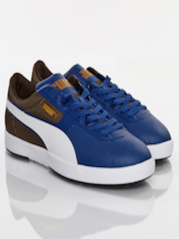 658e23bda133 Buy Puma Men Blue   Brown Future Brasil Lite Rugged Casual Shoes - Casual  Shoes for Men 372254