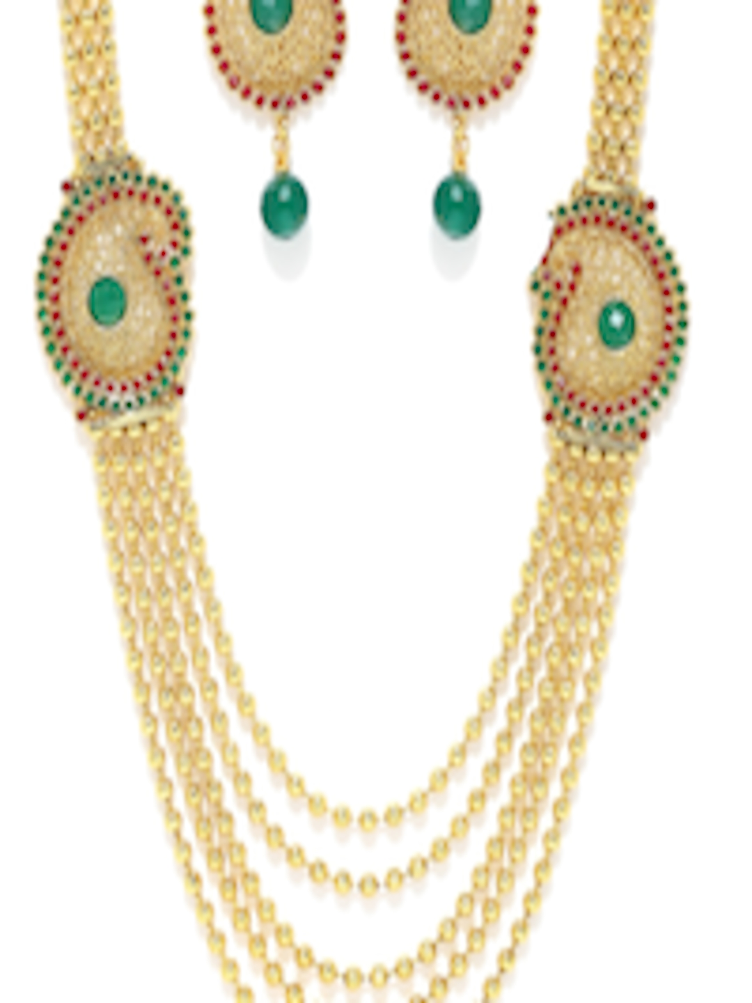 Buy Sukkhi Gold Plated Jewellery Set - Jewellery Set for Women ...