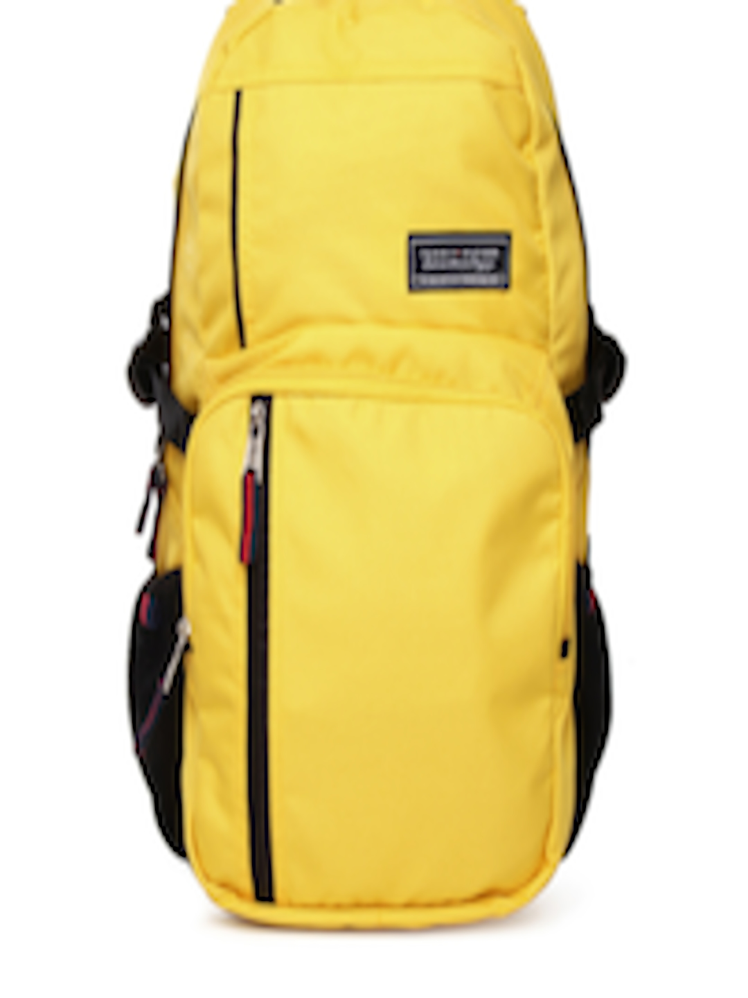 aba3ee6ca3 Buy Tommy Hilfiger Unisex Yellow Biker Club Backpack - Backpacks for Unisex  601766 | Myntra