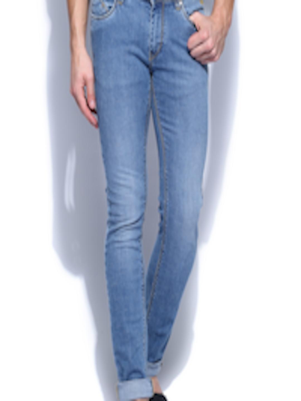 Buy Flying Machine Men Blue Jackson Skinny Fit Jeans ...