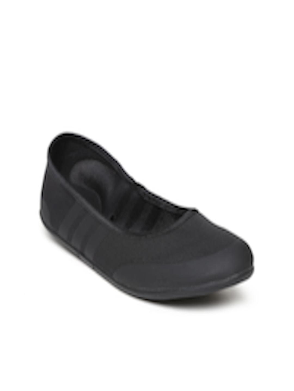 5c3880df682c Buy ADIDAS NEO Women Black Sunlina Flat Shoes - Flats for Women 702591