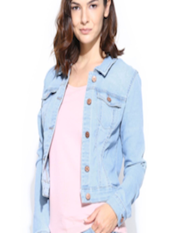 ef7b3219b3 Buy Vero Moda Women Light Blue Denim Jacket - Jackets for Women 706966