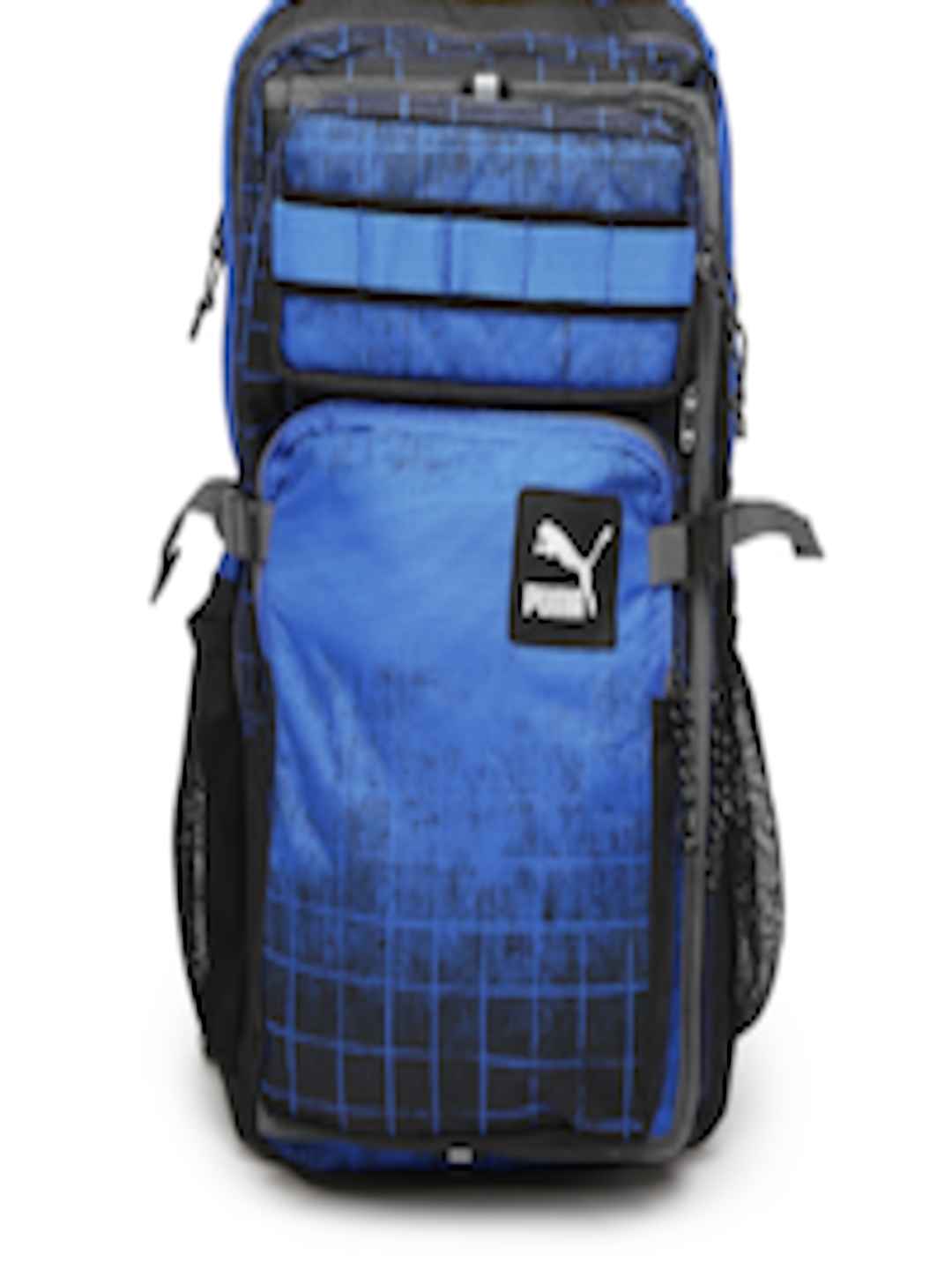 49071a5278 Buy PUMA Unisex Black   Blue Evo Blaze Backpack - Backpacks for Unisex  715852