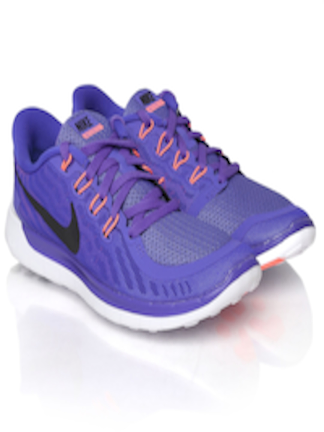 962f6fbd393a Buy Nike Women Purple Free 5.0 Running Shoes - Sports Shoes for ...
